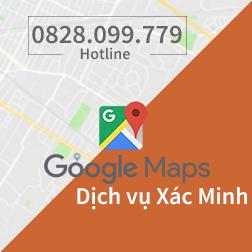 dịch vụ xác minh google maps