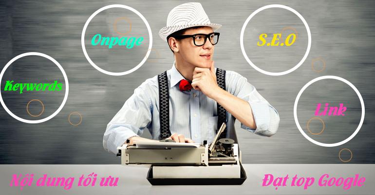 Dịch vụ viết bài chuẩn SEO – Copywriter chuyên nghiệp