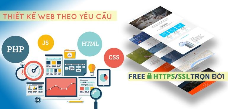 Thiết kế WEB trọn gói giá rẻ theo yêu cầu